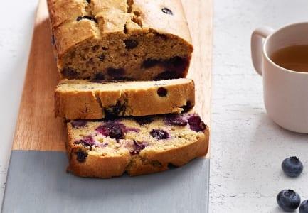 Blueberry, Buckwheat & Buttermilk Loaf