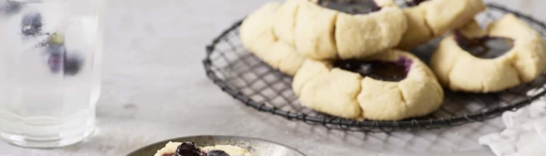 Blueberry Cardamom Cookies