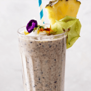Coconut & Blueberry Smoothie
