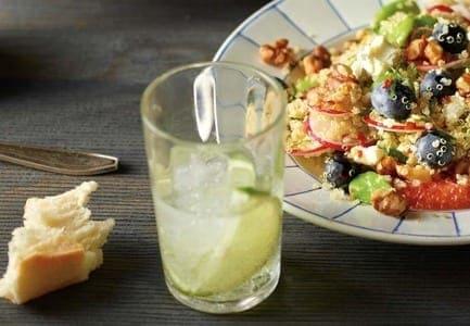 Quinoa, Blueberry & Goat's Cheese Salad