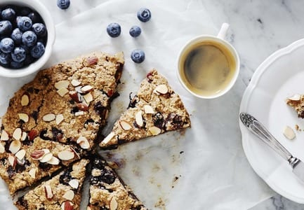 Spiced Blueberry & Almond Meal Scones