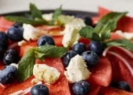 Watermelon, Mint & Feta Salad